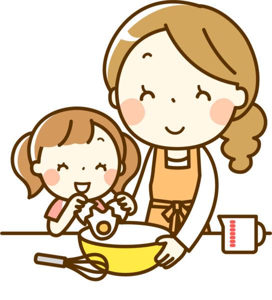 親子で楽しく料理
