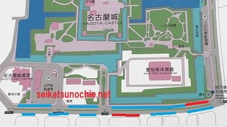 名古屋城南出来町通り地図