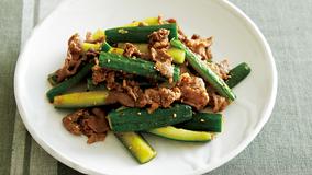 牛肉韓国風炒め