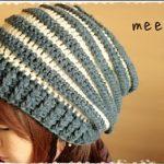 2色の帽子