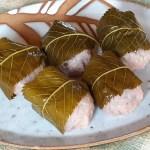 ごはんで桜餅ができた!道明寺粉ももち米もなくてもおいしくできますよ