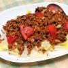 簡単ピリ辛肉みそを作っておけばタコライス風や担々麺、麻婆豆腐もすぐできます♪