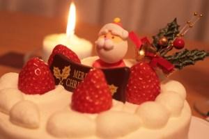 クリスマスケーキの大きさと人数の目安