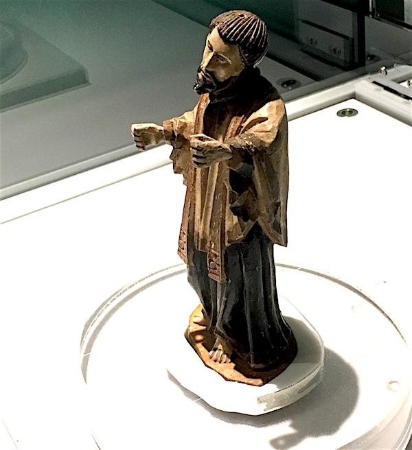 聖フランシスコ・ザビエル像(西南学院大学博物館所有)