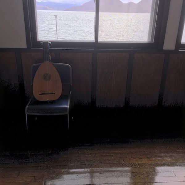 洞爺湖芸術館でのリュート2