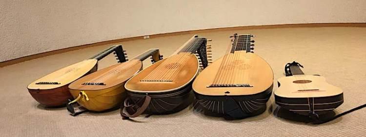 リュート協会コンサート楽器写真2