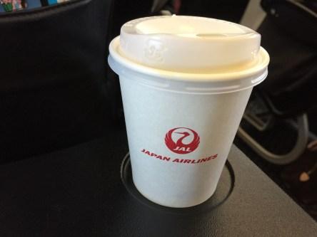 機内サービス コーヒー