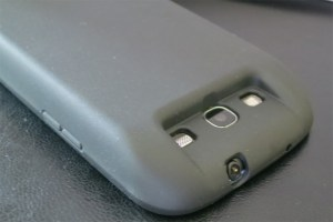 My S3 Galaxy with Zerolemon battery backside view
