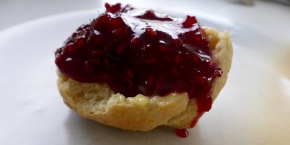 jammy scone