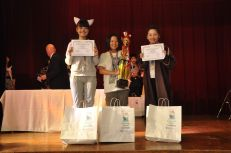 Junior high winners