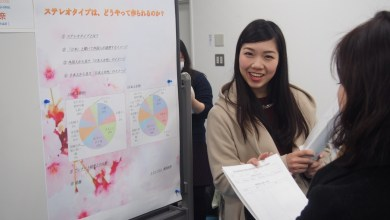 Photo of Graduation Thesis Poster Presentations – 2