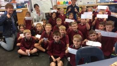 Photo of NZ School Visit
