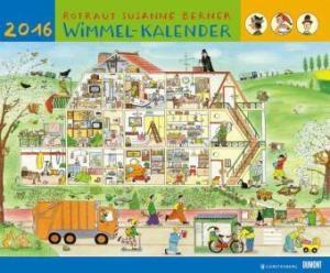 R. S. Berner Wimmel-Kalender 2016