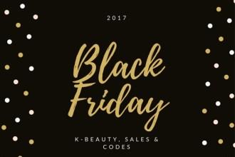 K-Beauty Black Friday