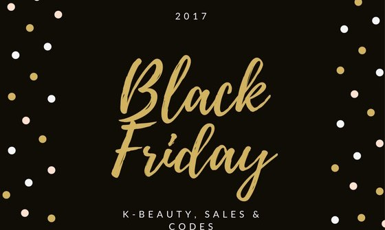 K-Beauty Black Friday