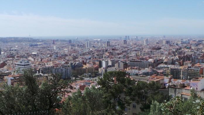 vue panoramique barcelone - seiraz