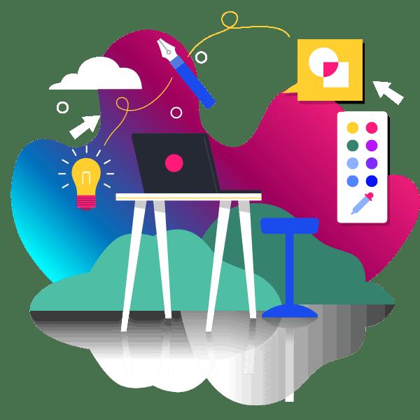 Producto Seis60 - diseño gráfico y páginas web