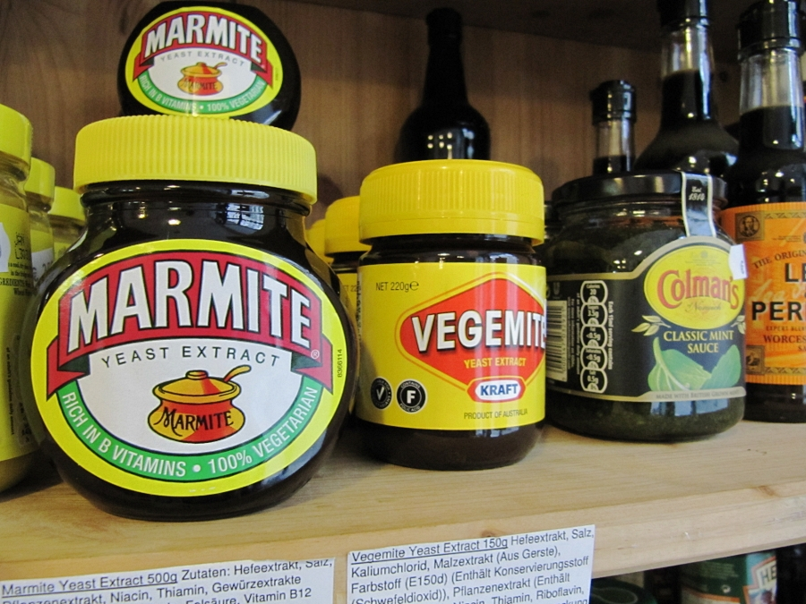 Marmite or Vegemite, that is the question!