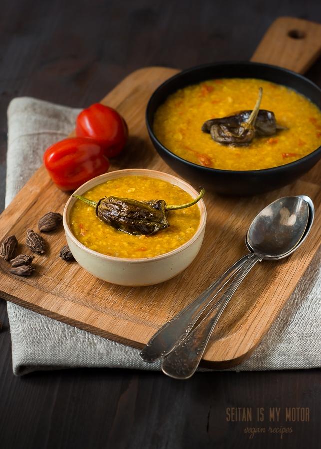 lentil soup   www.seitanismymotor.com