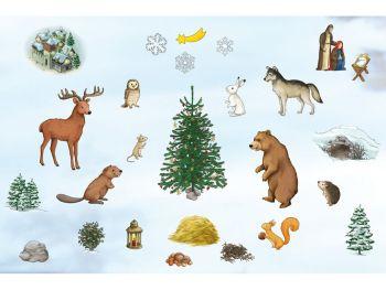 Katharina Mauder Seitenwaise Text, Adventskalender, Waldtiere, Weihnachten, Weihnachtsfest, Sozialökonomie