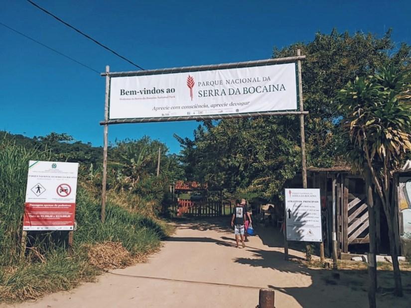 Entrada do Parque Nacional Serra da Bocaina