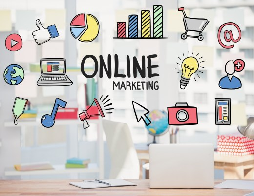 ícones relacionados a marketing digital