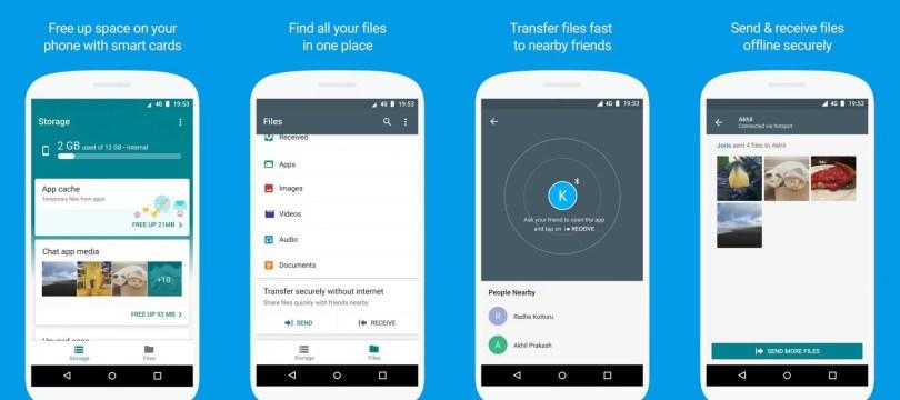 Files Go: Conheça o gerenciador de arquivos do Google 1
