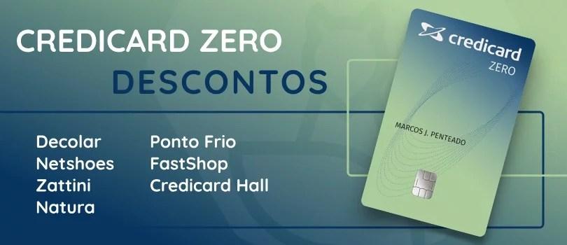 Credicard ZERO: Cartão de Crédito sem anuidade 2