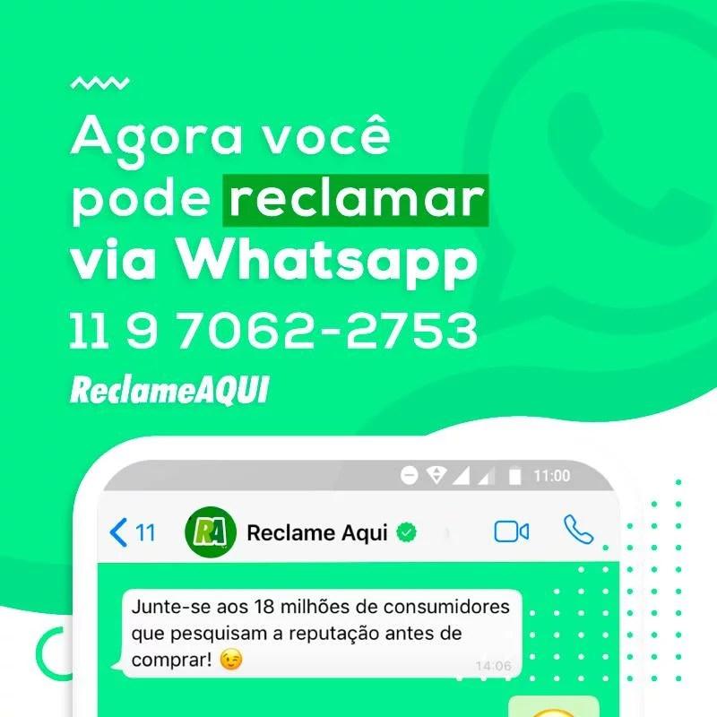 Reclame Aqui no WhatsApp