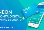 neon conta digital e cartão de crédito