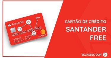 santander free cartão de crédito