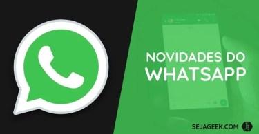 WhatsApp do Facebook: Novo nome e Bloqueio por Impressão Digital