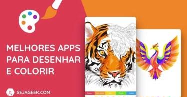 5 Melhores Apps para Desenhar e Colorir