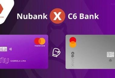 Nubank ou C6 Bank