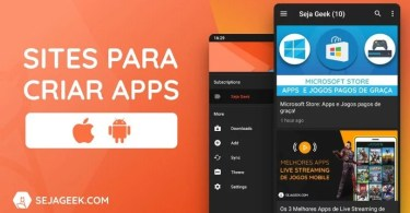 3 Melhores Sites para Criar Apps