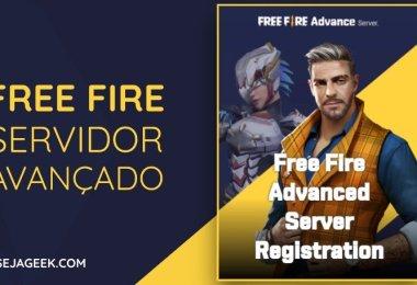 Free Fire libera Servidor Avançado