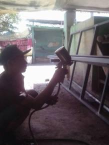 Jasa Pembuatan Railing Tangga Besi Makassar