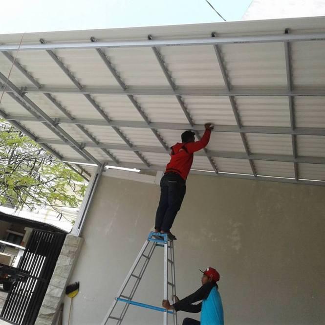 Jasa  Pengerjaan  Atap  Baja Ringan  Boroko