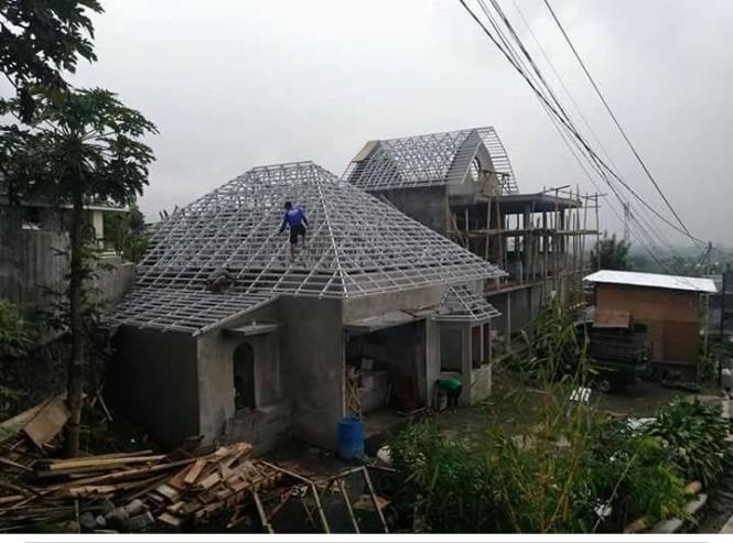 Spesialis  Pasang Rangka Atap Baja Ringan  Sawerigadi  - Tlp.0852.9943.6981