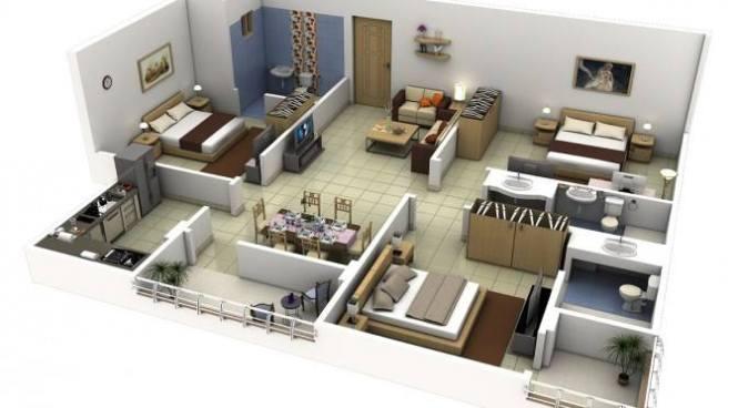 Desain Arsitek Rumah  Sungguminasa