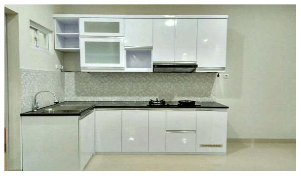 Pembuatan Kitchen Set Minimalis   Sumbawa Besar