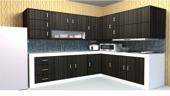 Jasa Pembuat Kitchen Set   Sanana