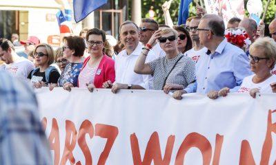 Katarzyna Lubnauer/Grzegorz Schetyna/Marsz Wolności/fot. Platforma Obywatelska/Flickr/CC BY-SA 2.0
