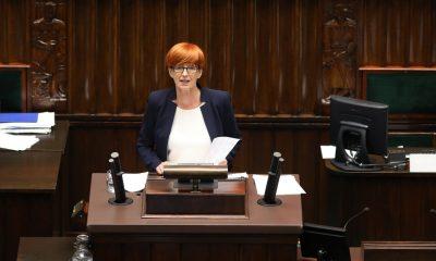 Elżbieta Rafalska/fot. Kancelaria Sejmu/Rafał Zambrzycki