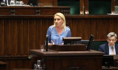 Agnieszka Ścigaj/fot. Rafał Zambrzycki/Kancelaria Sejmu