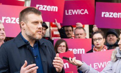 Adrian Zandberg/Fot. Partia Razem/Facebook