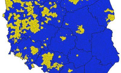 Wybory do Parlamentu Europejskiego 2019 - Zwycięskie komitety w gminach. Opracowanie Grzegorz Burlikowski - wyborynamapie.pl