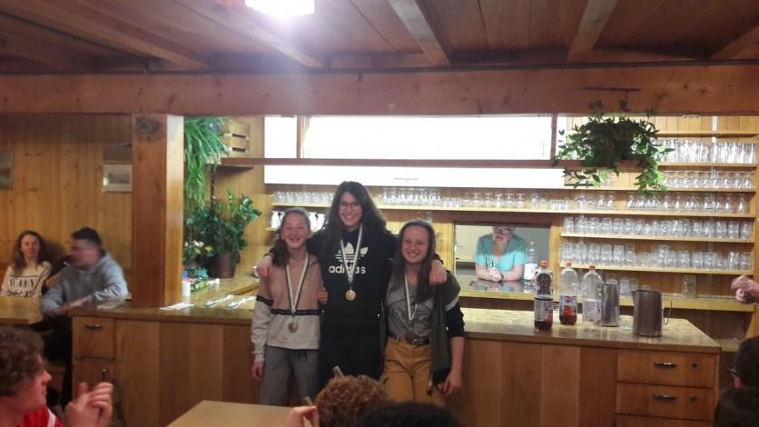 Siegerinnen Snowboard