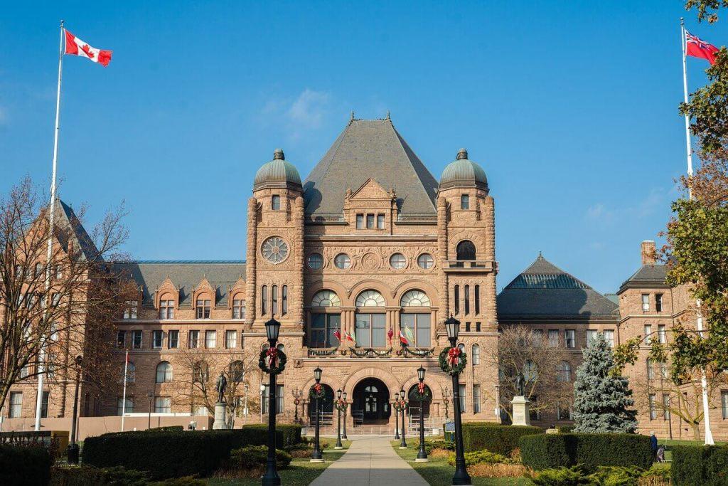 トロント観光、オンタリオ州議事堂