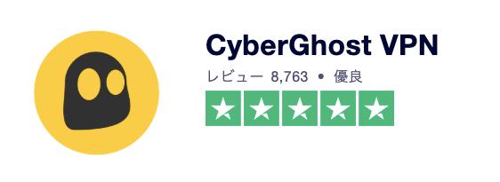CyberGhost、評判、口コミ